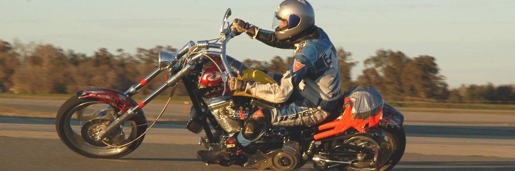 Motorcycle Testing by Erin Higinbotham